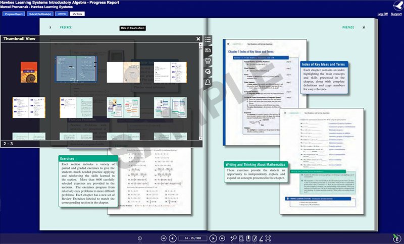 sample ebook screenshot