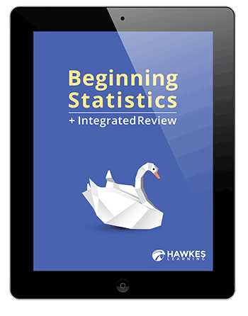 Hawkes learning products beginning statistics integrated review developmental mathematics book and software fandeluxe Gallery