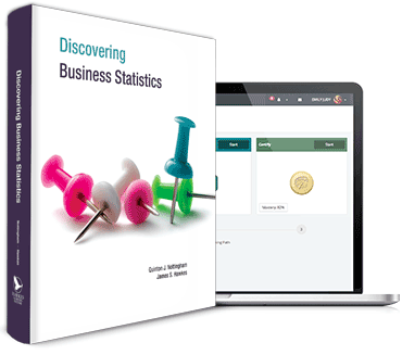 Hawkes Learning | Products | Discovering Business Statistics