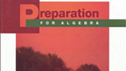 Preparation for Algebra