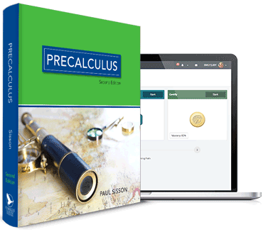 Precalculus textbook and software