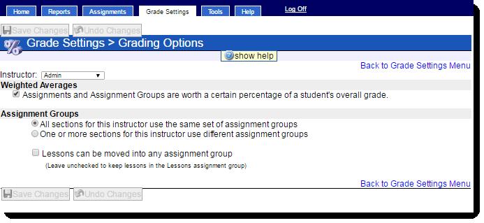 hawkes grade book guide grading options